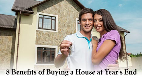 8 Benefits of Buying a House at Year's End