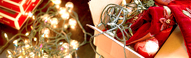 Cutting Holiday Clutter