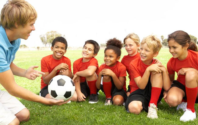 Benefits of kids playing sports