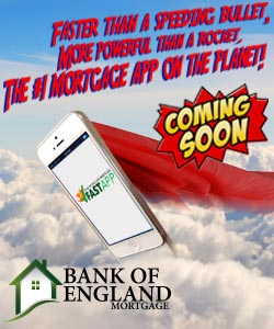 Download the Bank of England Mortgage Mobile App!