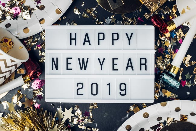 Happy 2019 from Bank of England Mortgage