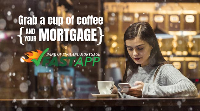 Grab a cup of coffee and your mortgage!