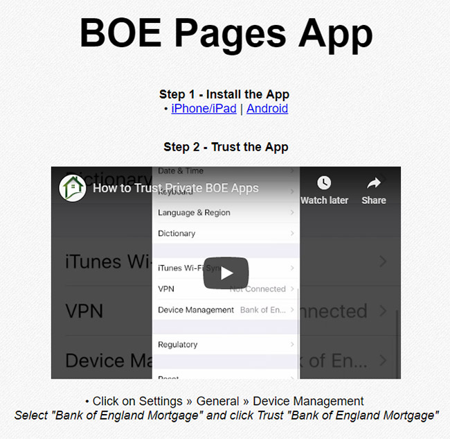 Refresh your BOE Pages App!