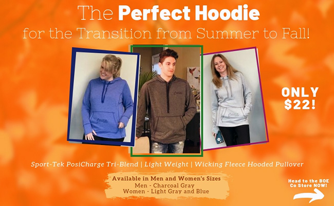 The Perfect, Light Weight Hoodie!