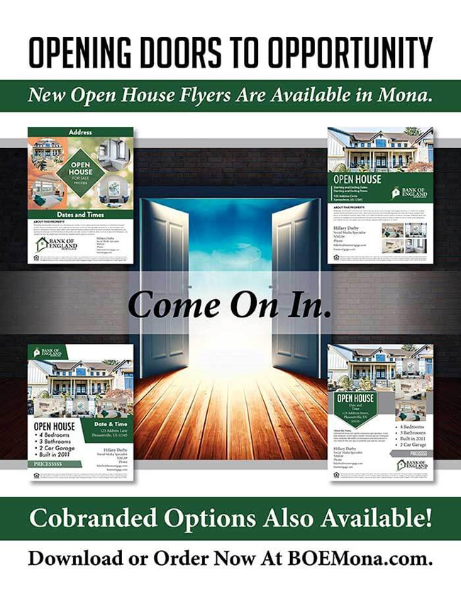 New Open House Flyers in MONA!