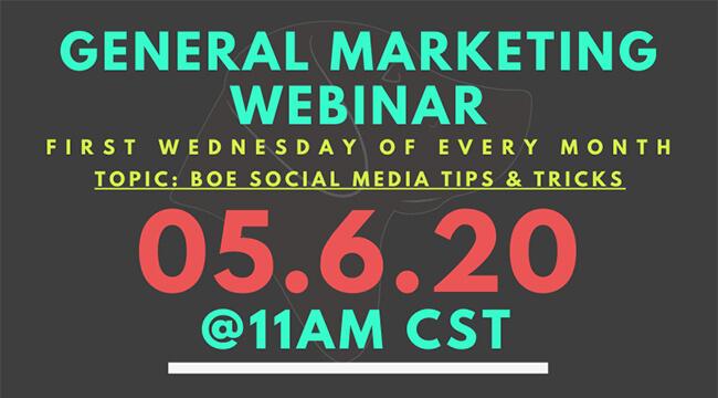 Marketing Webinars